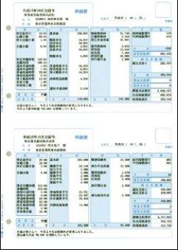 画像1: 給与明細書(ページプリンタ/インクジェットプリンタ兼用) 500枚入