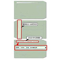 画像1: 給与明細書ページプリンタ専用窓付封筒 200枚入